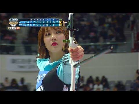 【TVPP】EunHa (GFriend) –beautiful when she shoot a bow , 은하(여자친구) – 활 솔때 제일이쁜@ IDSC