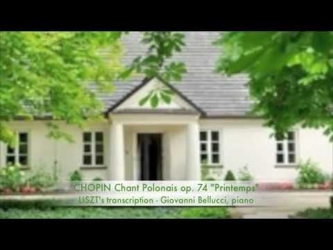 CHOPIN CHANT POLONAIS OP74