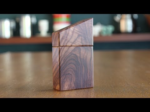 Making a Ring Box Out of Cocobolo