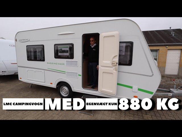 LMC campingvogn med egenvægt på kun 880 kg (Reklame)