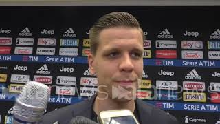 """Juve, Szczesny: """"Allegri? Ha pianto tanto"""""""