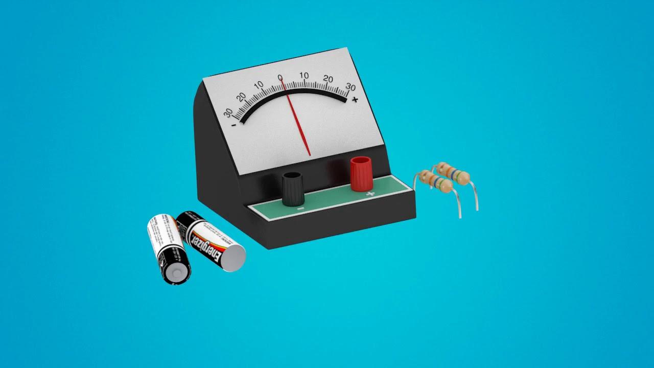 Bagaimana Cara Menggunakan Galvanometer? - YouTube
