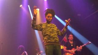 "Chronixx 6th July 2016 ""who knows"" and ""here comes trouble"""