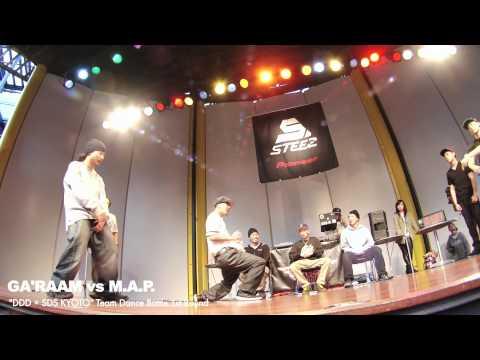 【SDS KYOTO-1st Round-】 GA'RAAM vs M.A.P.�.05.12(SAT)】Team Dance Battle