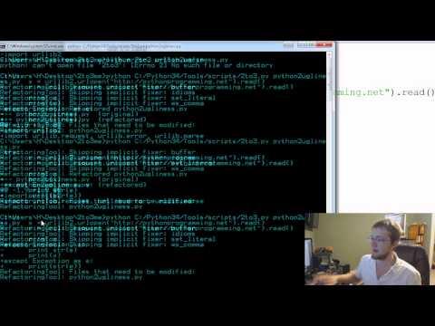 Python 2to3 - Convert your Python 2 to Python 3 automatically!