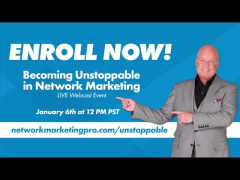 Becoming Unstoppable in Network Marketing - YouTube