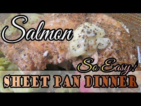 keto-tuscan-salmon-sheet-pan-dinner-so-easy-and-fast-dinner-recipe