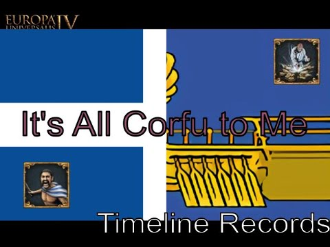 EU4 It's All Corfu To Me with Tacobowler Gaming  