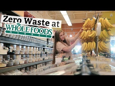 I Tried Zero Waste Grocery Shopping At Whole Foods