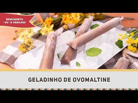 Geladinho de Ovomaltine - Receitas de Minuto EXPRESS #224