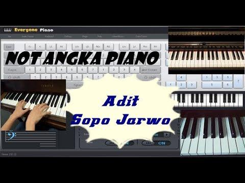 Not Angka lagu Adit Dan Sopo Jarwo