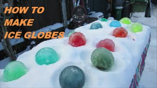 Diy Ice Globes *fun & Easy For Kids*