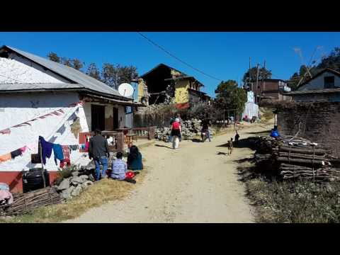 A walk around Hile Station, Nepal