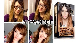 how i dyed my hair light brown blonde ombre