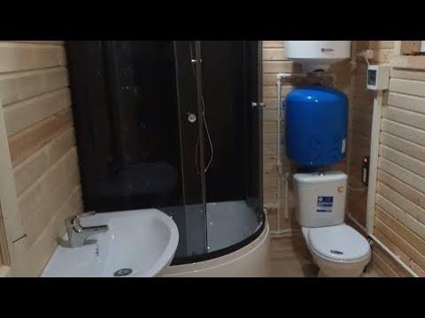 Водоснабжение и канализация частного дома зимой