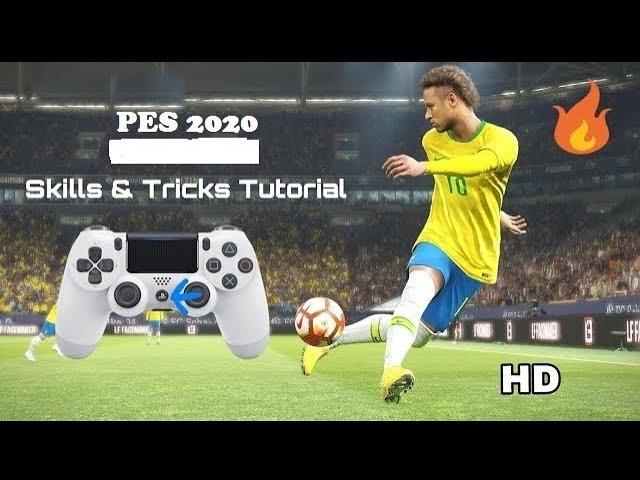 تعلم مهارات بيس 20 شرح مفصل Pes 2020 All Skills Tricks Tutorial Youtube