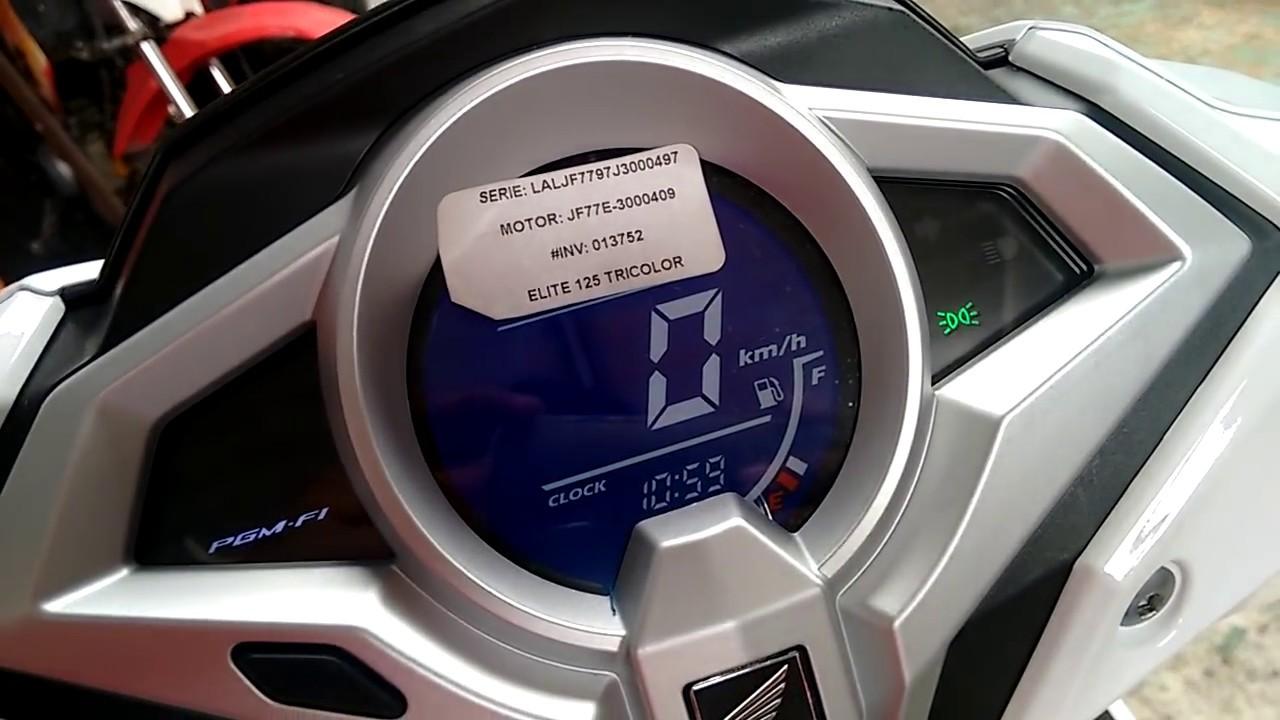 Honda Elite 125cc 2018 Vistazo Youtube