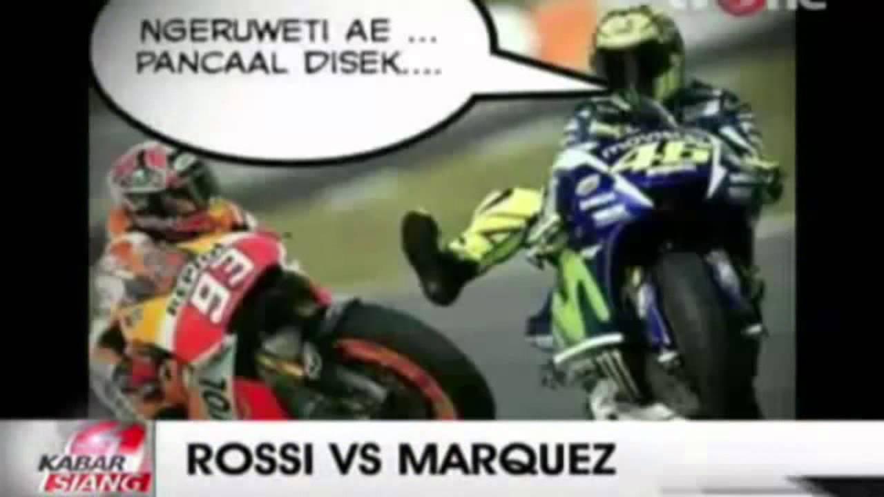 kumpulan meme Rosi dan Marquez paling lucu moto GP  YouTube