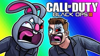Black Ops 3 Zombies Funny Moments - The Battle of the Arnolds Continue!
