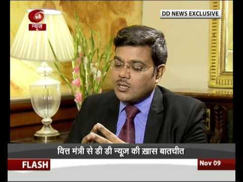 War against Black Money: Exclusive Interview of Finance Minister Arun Jaitley (Hindi)