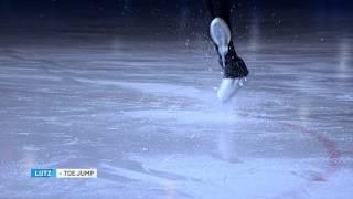 Russians explain // Figure skating / Jumps / Lutz