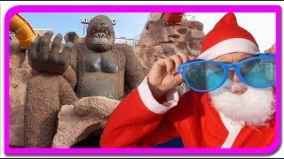 Mos Craciun vs King Kong  Aventurile lui Mos Craciun la Anabella Show
