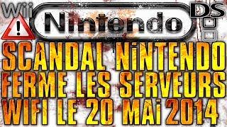 Wifi Nintendo - Les serveurs Wifi ferme le 20 mai 2014- DS WII