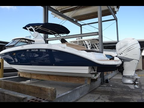 2018 Sea Ray SDX 270 Outboard For Sale at MarineMax Naples Yacht Center