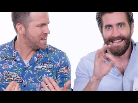 Awkward Interview for LIFE the movie w/ Jake Gyllenhaal and Ryan Reynolds