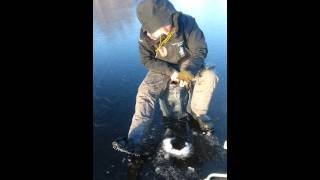 Ice Fishing at Vestmovann / Telemark