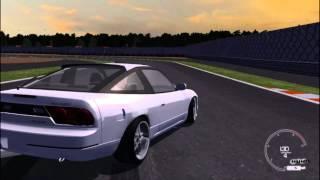 SLRR Nissan 200SX Drift Montage