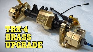 Yeah Racing Brass Upgrade Set for Traxxas TRX-4 - Installation and Advantages