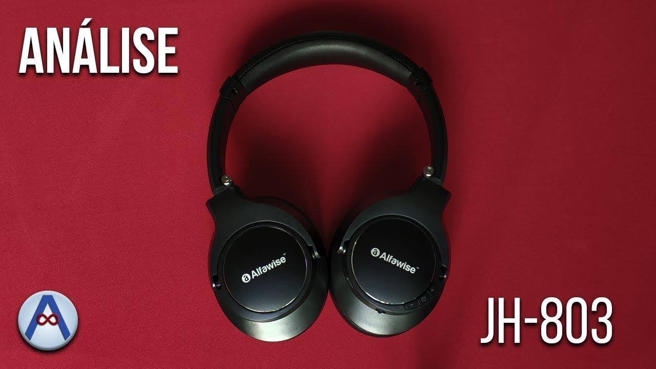 ANÁLISE - FONE BLUETOOTH ALFAWISE JH-803