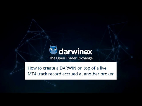 DARWIN from MT4 account at another broker