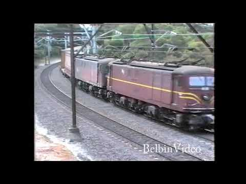 NSWR in 1993, when electric locos ruled the Short North.