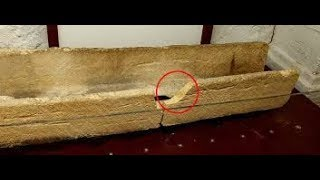 800-Year-Old Coffin Just ruined for the sake of photo by the museum goers