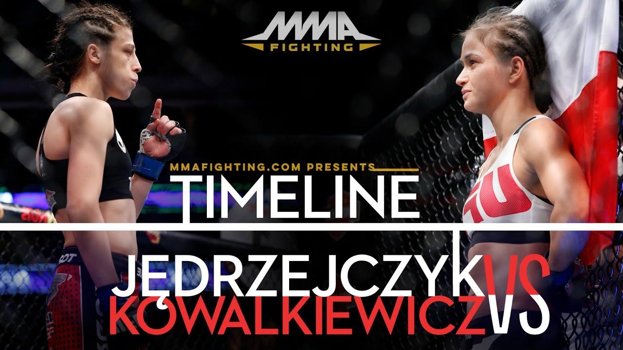 Watch Joanna Jedrzejczyk mixed martial arts video
