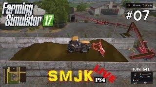 🔴 Sianokosy żniwa i kiszonka Nowa Ameryka - Farming Simulator 17 PS4 PL LIVE #07