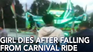 10-year-old girl dies after falling from carnival ride at fall festival