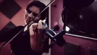 Elfen lied de (lilium) video clid  en violin
