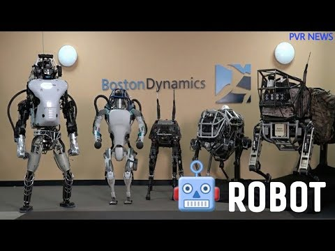 Boston Dynamics Atlas Robot 🤖 | PVR NEWS
