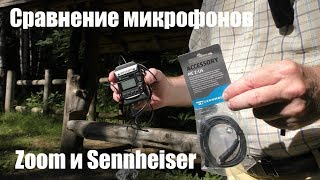 Сравнение микрофонов Zoom LMF-1 и Sennheiser ME 2-US (а заодно и Sony ECM-AW4)