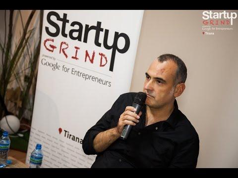 Renis Tërshana (R&T Group) at Startup Grind Tirana