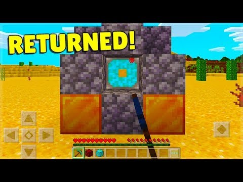 The Nether Reactor Core BACK In Minecraft Pocket Edition!