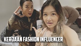 Kerjaan fashion, Makan Sendiri, Nonton Fashion show    Michimomo mini vlog