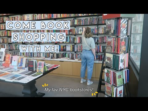 Come Book Shopping in NYC With Me! (my 5 fav stores + haul!)