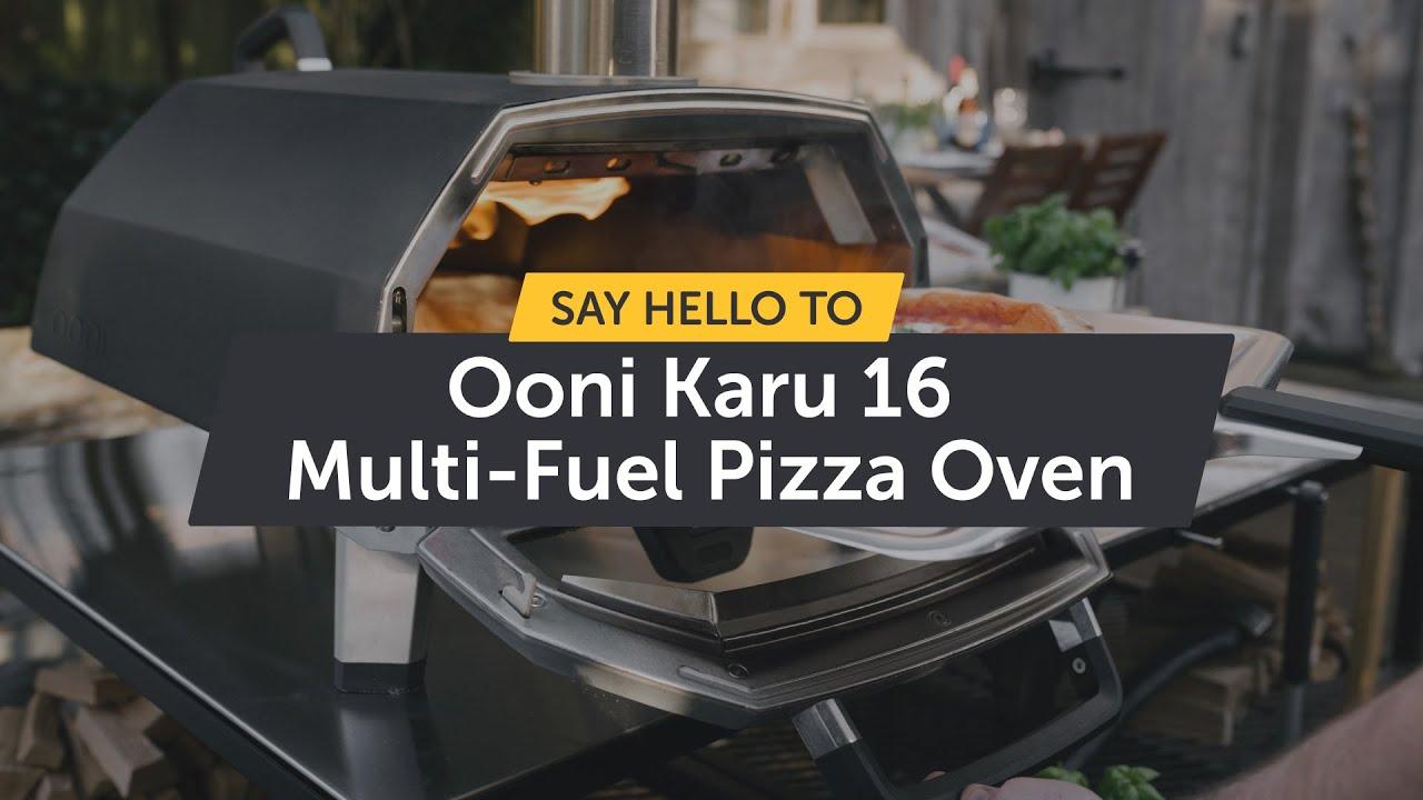 Say hello to Ooni Karu 16 - Multi-Fuel Pizza Oven!