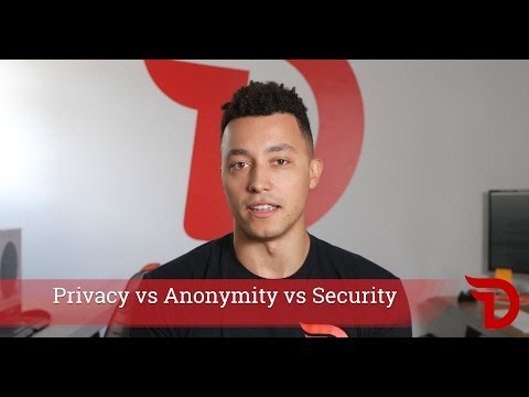 Divi Project - Understanding Privacy vs. Anonymity vs. Security