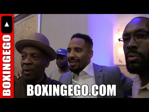 ANDRE WARD  & TEDDY ATLAS IMMEDIATE REACTION TO TERENCE CRAWFORD-INDONGO INTENSE FACE OFF/FIGHT