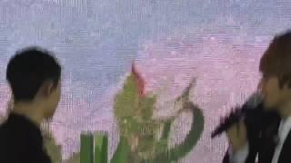 170121 GREEN NATURE 2017 EXO FAN FESTIVAL 백현 경수 이마키스